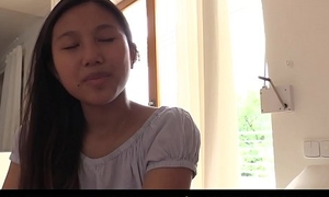QUEST FOR Scale - Asian teen beauty May Thai in for chap-fallen orgasm with vibrators