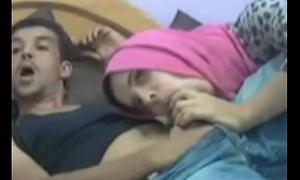 Arab Teen Deep-throats Big Cock