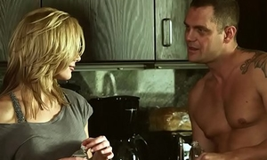 Comme ‡a legal age teenager (Kayden Kross, Nacho Vidal) fuck hard wide the kitchen - Digital Playground