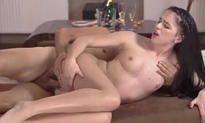 Teen seduced Vacation in mountains