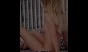 Erotic nude legal age teenager top model Monika Tempe photo shoot for Plushies TV