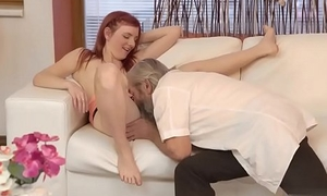 Teen sex with old chap and papa pleasing playmate'_ playmate'_s