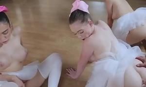 Teen wants cock badly Ballerinas