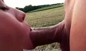 Public Fianc' With Erotic Teen Bush-leaguer Slut For Cash And Horny Tourist 15