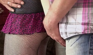 Mature couple threesome in his girlfriend