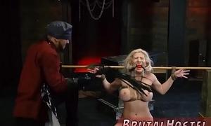 Extreme old man and bondage struggle fuck Big-breasted yellowish