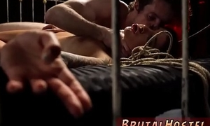 Gangbang domination and leggings bondage Disturbed young tourists