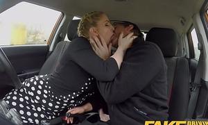 Fake Driving Omnibus Busty Blonde Georgie Lyall receives customer satisfaction