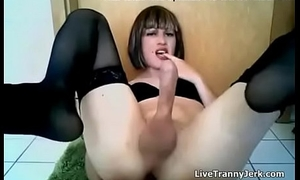 Super Sexy Crossdresser Milks and Squirts Tranny. Part 2 at TCams.xyz