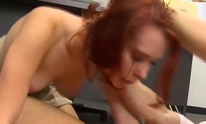 50 - Redhead Schoolgirl Melody Jordan Fucking