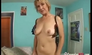 Gorgeous GILF Blonde In Sexy Lingerie Anal Fuck