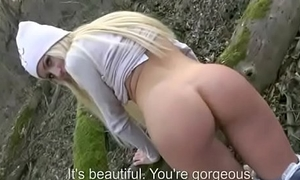 Disgorge Fuck - Tourist Seduces By Low-spirited European Teen Slut In A Outlaw 15