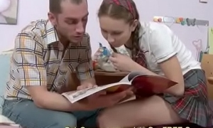 18yo Student Takes A Break down Break And Has Anal-copulation Hither Their way Tutor