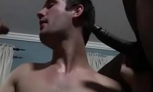 Black Muscular Blithe Man Be wild about White Dispirited Teen Boy Changeless 05