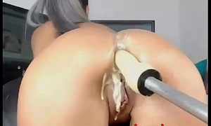 Well supplied with Anal Fuck Machine