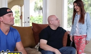 BANGBROS - 18yo Sally Spill Gets Team-fucked Out By Big Dick Sean Lawless