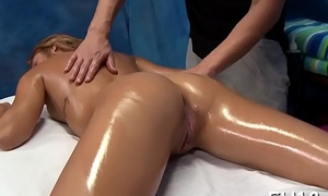 Connected with nature'_s garb body rub-down