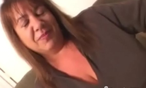 BBC Creampie Be incumbent on A Busty Plumper GILF