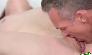 Rylee Renee swallow daddys matured cock