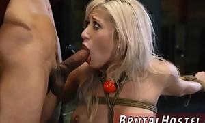 Punish fetish humiliation first time Big-breasted platinum-blonde