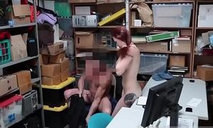 Police non-specific self bondage Petty Pilfering - Suspect insisted on 'No'