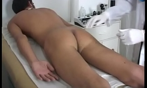 Young chinese boy army physical test gay Zak had the one and the other of his puffies