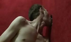 Gay Interracial Handjob and BBC Booty-crack 09