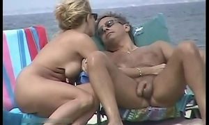 Beach voyeur cam is similar to one another hot naked chicks