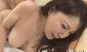 Juvenile slut carry off poking action