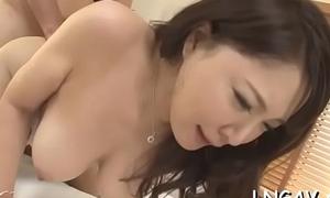 Juvenile slut carry off poking action