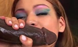 Hairy Asian Teen Big black cock Fuck