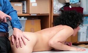 LP Officer Kiss Sexy Shoplifter Down
