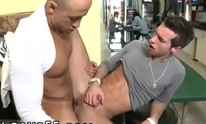 Young chaps engulfing cocks outdoors together with free gay mexican male pissing