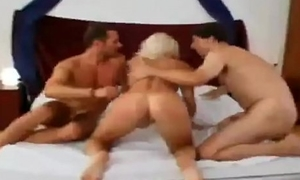 Blonde Babe Abiding Painal