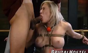 Crude bdsm gangbang xxx Big-breasted ash-blonde ultra-cutie Cristi