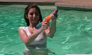 Titty Attack Porn - Squirting On Tits relating to Nina North videoclip-01