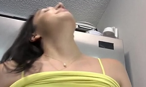 Teen cracking shaking with an increment of unconstrained girl masturbation My Annoying Stepbro