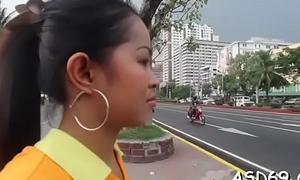 Oriental blowjob and jock ride