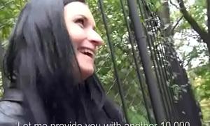 Public Fuck With Amateur European Floosie Of A few Dollars 28