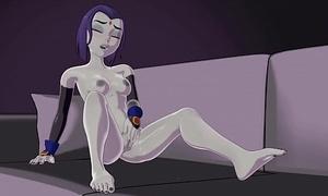 Teen Titan'_s Raven Jilling by Skuddbutt