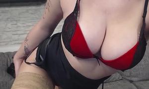 Sexy rote Dessous nur f&uuml_r Dich