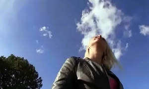 Public Picups -Sexy Amateur Girl Fucked By Traveller In The Street 29