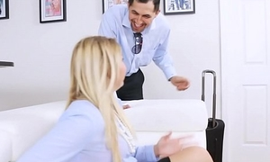 Thick PAWG Teen Screwed And Creampied
