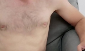 Amazing sexy girl gets dirty nearby a horny guy