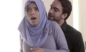 Shy Busty Arab Teen Aaliyah Hadid Ass-Fucked About Her Hijab